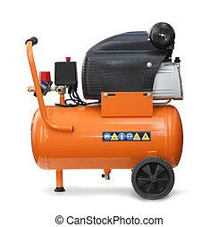 compressor, isolado, ar