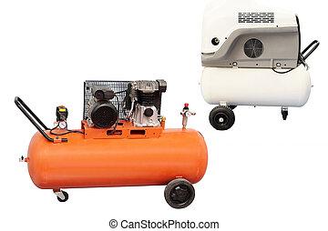 compressor isolated