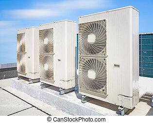 compressor, lucht