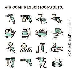 compressore, aria