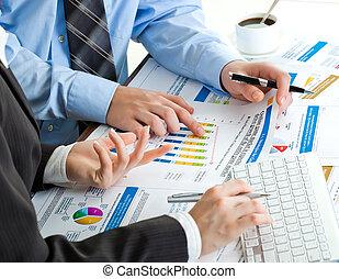 comptabilité, business
