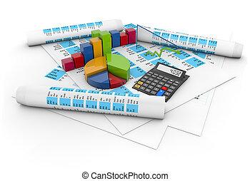 comptabilité, concept