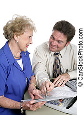 comptabilité, conseil, bon, -, série