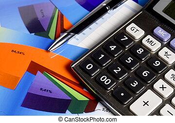 comptabilité, et, finance