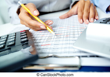 comptabilité, notes