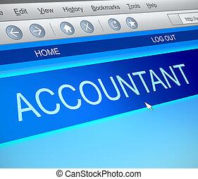 comptable, concept., ligne