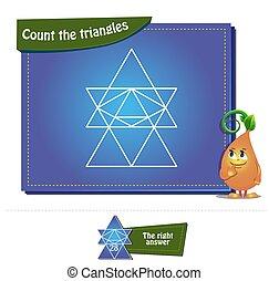 compte, brainteaser, triangles, 20