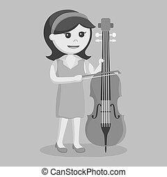 Guitariste femme jazz