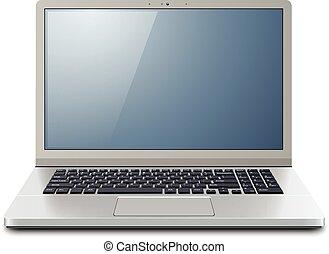 computador laptop, 3d