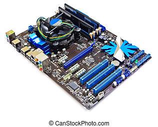 computador, motherboard