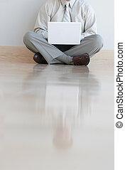 computador portatil, hombre, empresa / negocio, 6