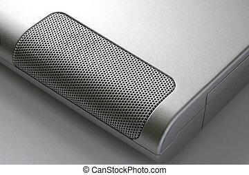 computador portatil, orador