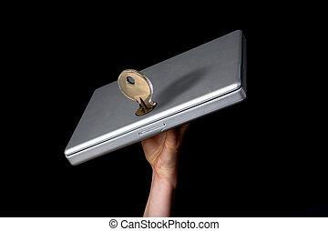 computador portatil, seguridad