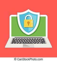 computador, proteção