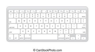computador, teclado