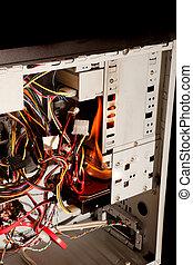 computadora, desastre