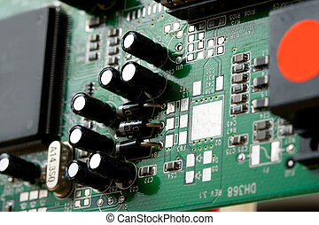 computadora, detalles, memoria