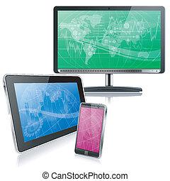 computadora, dispositivos