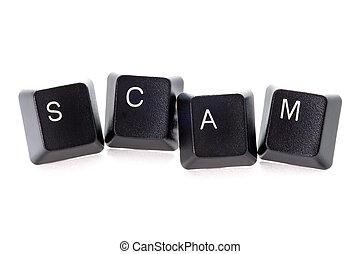 computadora, scam, internet