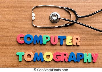 computadora, tomografía