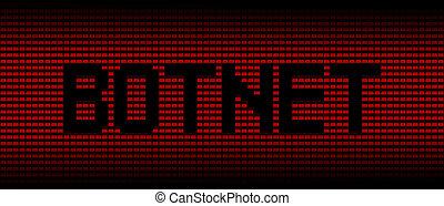 computadoras portátiles, texto, plano de fondo, botnet, ilustración, rojo