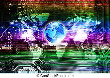 computadores, globalização