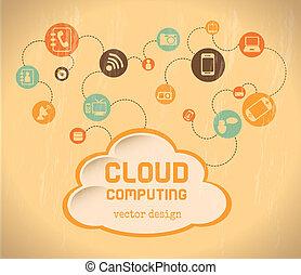 computando, nuvem