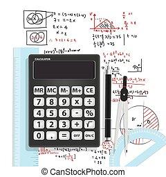 Computational Mathematics With Calc - illustration vector ...