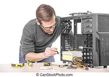computer., 修理
