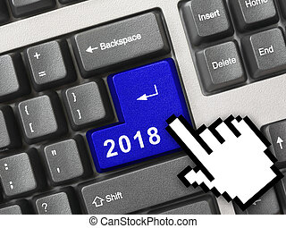 computer, 2018, klee, toetsenbord