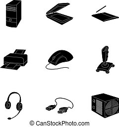 Computer accessories. Headphones, computer parts, accessories.