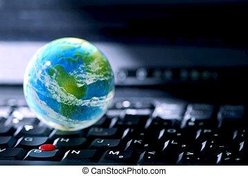 computer, affari, internet