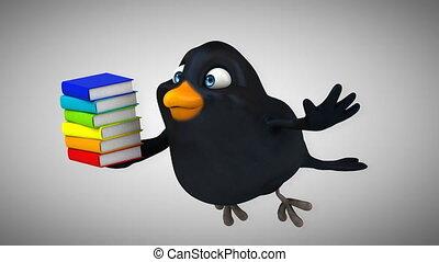 Computer animation - Fun bird