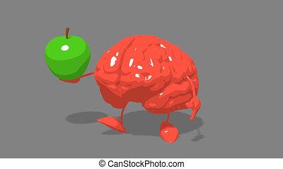 Computer animation - Fun brain