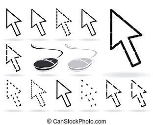 Computer arrow3