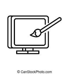 computer art illustration design