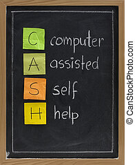 computer assisted self help (CASH) - CASH - computer...