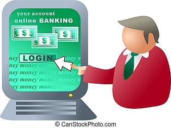 computer banking - banking online