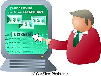 computer banking - banking online