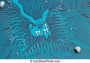 computer board closeup