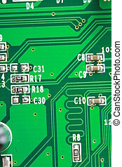 Computer Board - computer board close-up.
