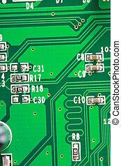 Computer Board - computer board close-up.