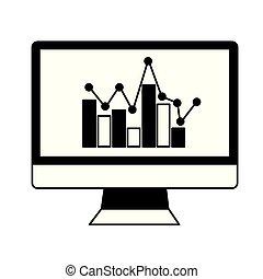 computer chart statistics business