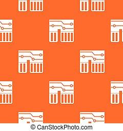 Computer chipset pattern seamless - Computer chipset pattern...