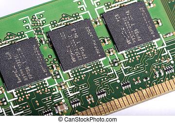 computer chipt, geheugen