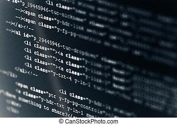 computer- code, html