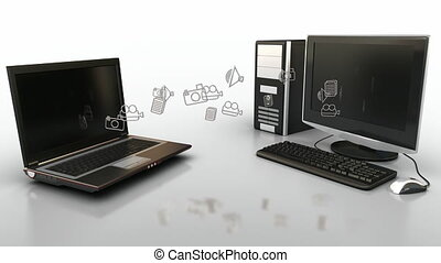 computer, comunicazione