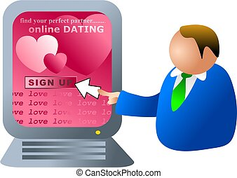 computer dating - online dating