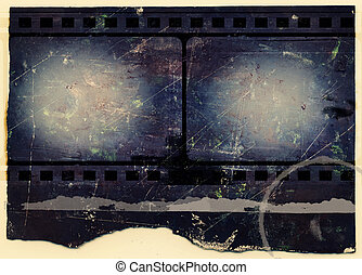 Computer designed highly detailed film frame with space for your text or image. Nice grunge element for your projects. More images like this in my portfolio