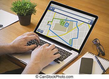 computer desktop gps